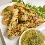 Grilled Chicken Coriander Chilli Lemon Salsa