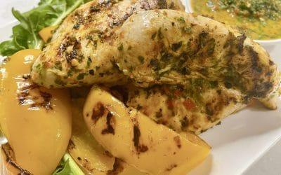 5 Ingredient Grilled Chicken with Coriander Sauce