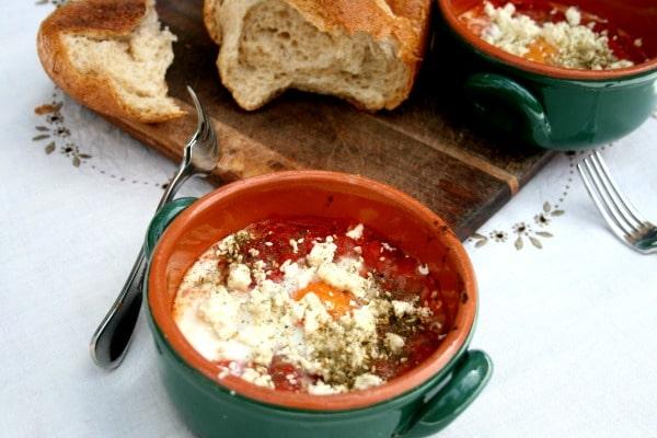 Shakshouka (Easy Moroccan Spiced Eggs)