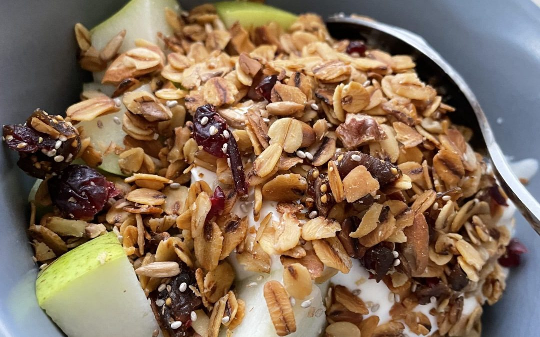 Fig and Cranberry Granola