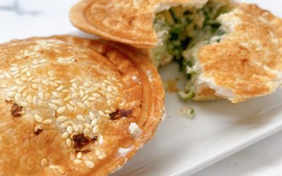 Pie Maker Recipes: Spinach and Ricotta Pies